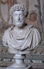 Marcus Aurelius (A.D. 121-A.D. 180), looking stoical. [picture from Wikipedia]