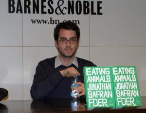 Jonathan Sefran Foer in 2009, picture from Wikipedia