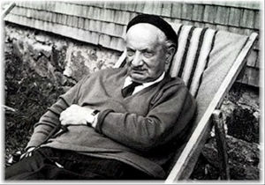Heidegger, trying to relax  after some series angst