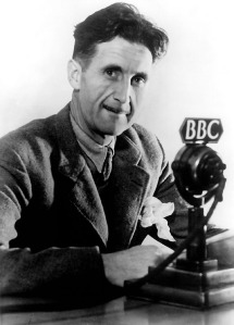 The tea drinker himself, Eric Blair, a.k.a., George Orwell