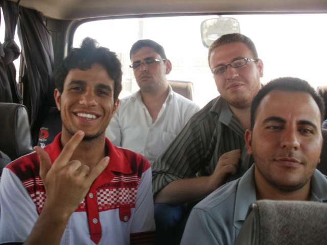 Bus ride, Egypt