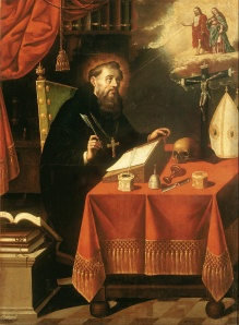 One of the many picture's of St. Augustine (by Antonio Rodríguez)