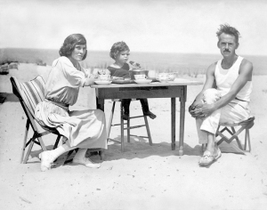 Eugene O'Neill at Cape Cod in 1922 (image courtesy of Wikipedia)