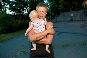 """Heather and her daughter Jada"" (2010) [Photo by Brenda Ann Kenneally; image from above hyperlink]"