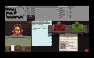 Screen shot from Papers Please [image courtesy of dualshockers.com]